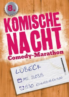 8. Komische Nacht Lübeck 19:30