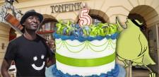 5 Jahre Tonfink! Wir feiern u.a. mit Dolus Mutombo (DRC)