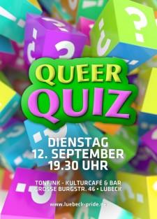 QueerQuiz (Beginn 19.30 Uhr)