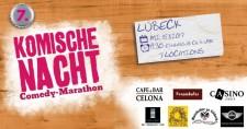 7. Komische Nacht Lübeck - Tonfink - Beginn 19:30 Uhr - EIntritt 18/20€